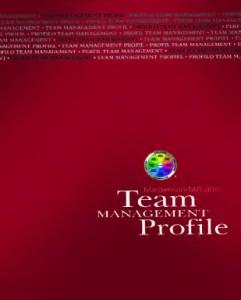Cover TMS Profil