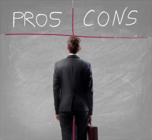 pro und cons entscheidungsprozess